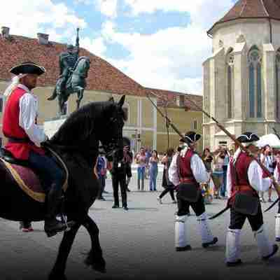 Change of the guard at the Alba Iulia Fortress