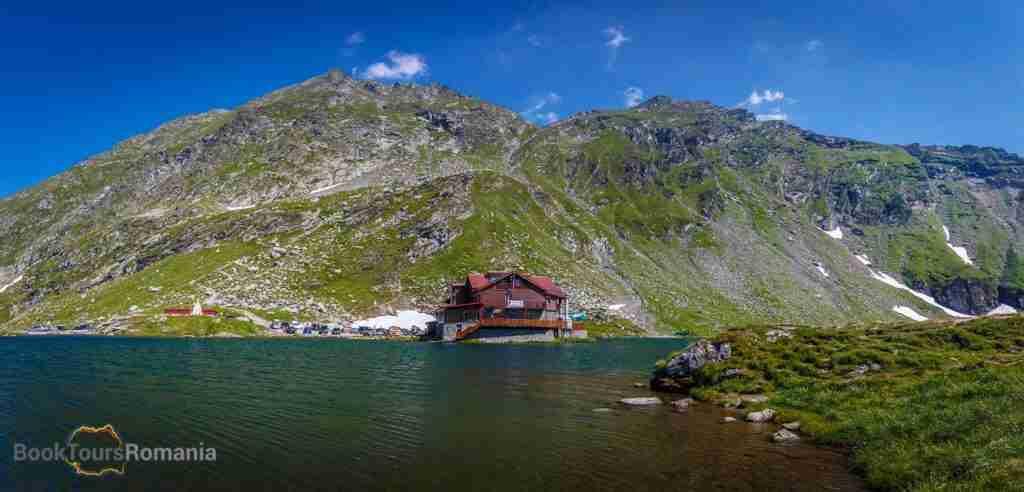 Balea Lake on Transfagarasan Road