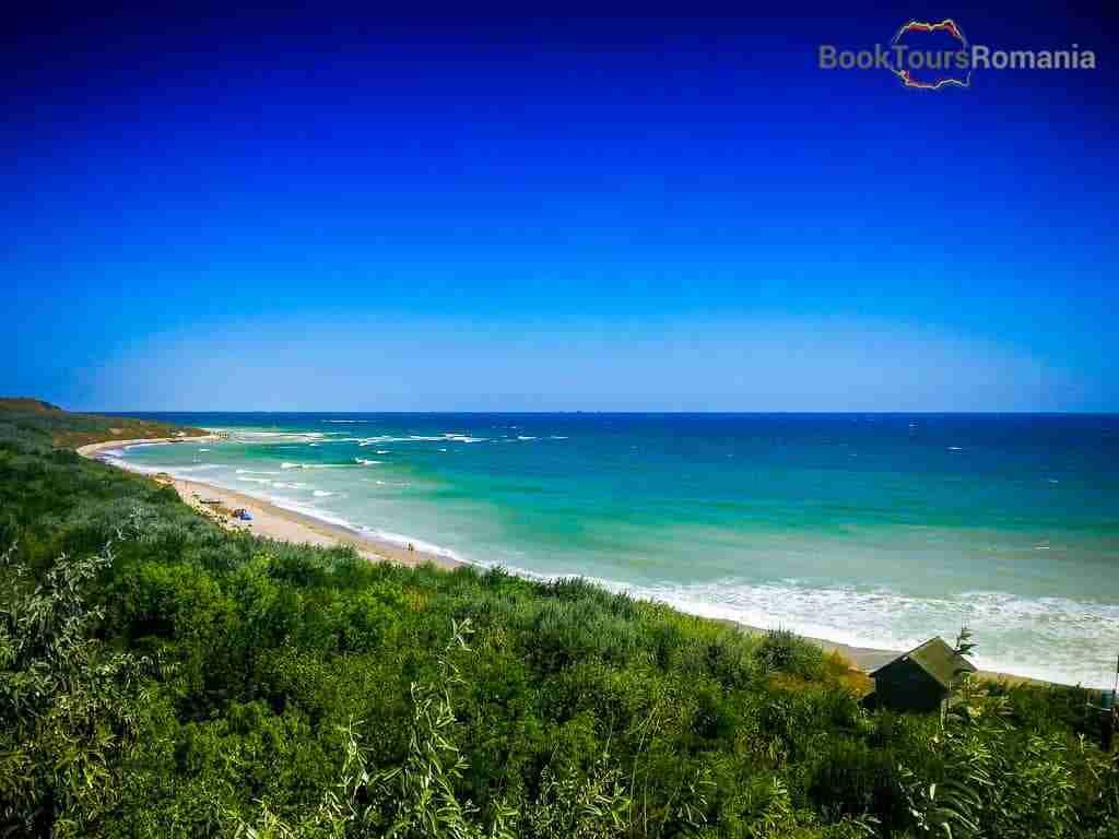 The Black Sea shore
