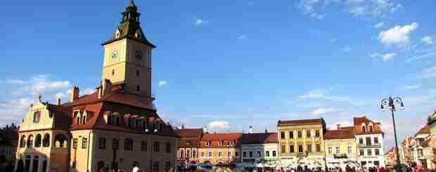 Brasov's main square