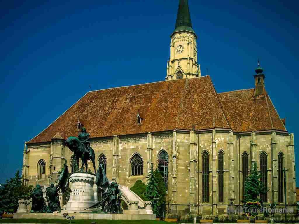 Cluj-Napoca city centre