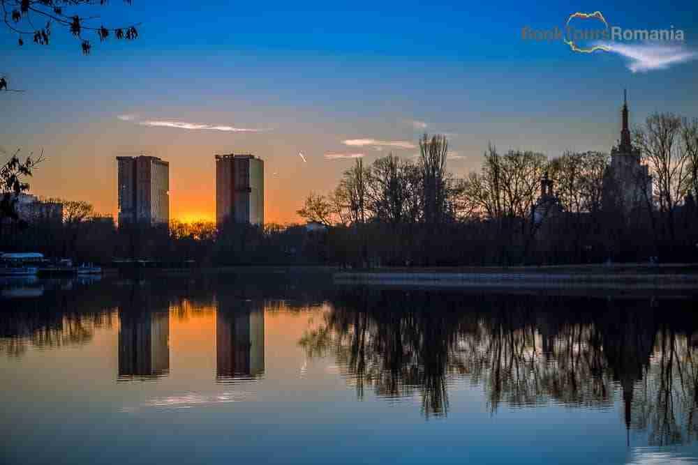 Herastrau Park Sunset
