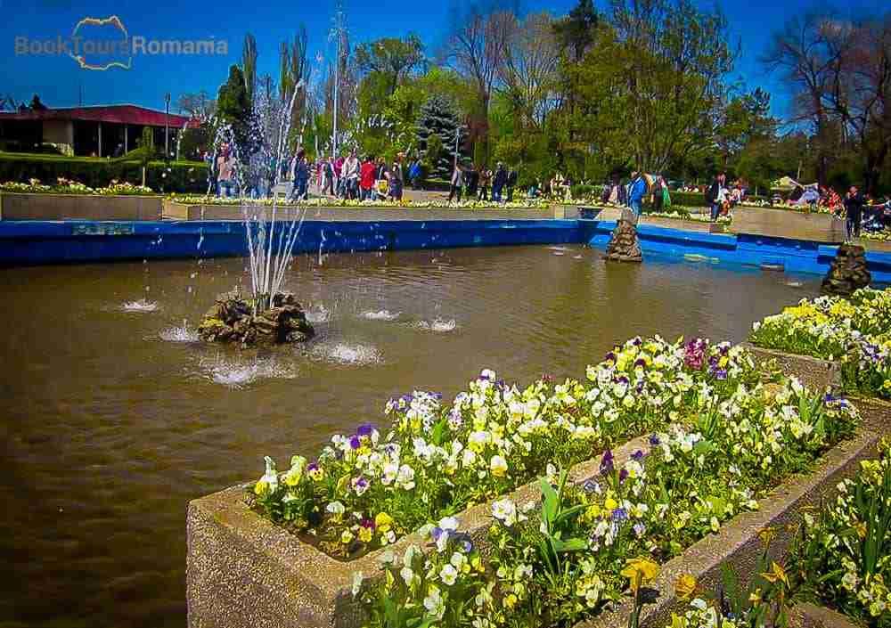 Founains in Herăstrău Park