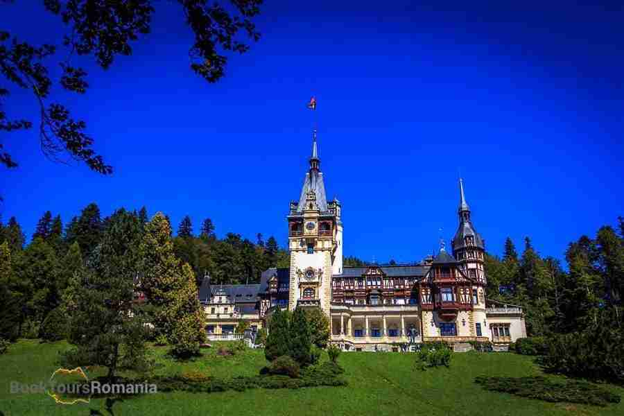 Departing from Bucharest, visit Peles Castle