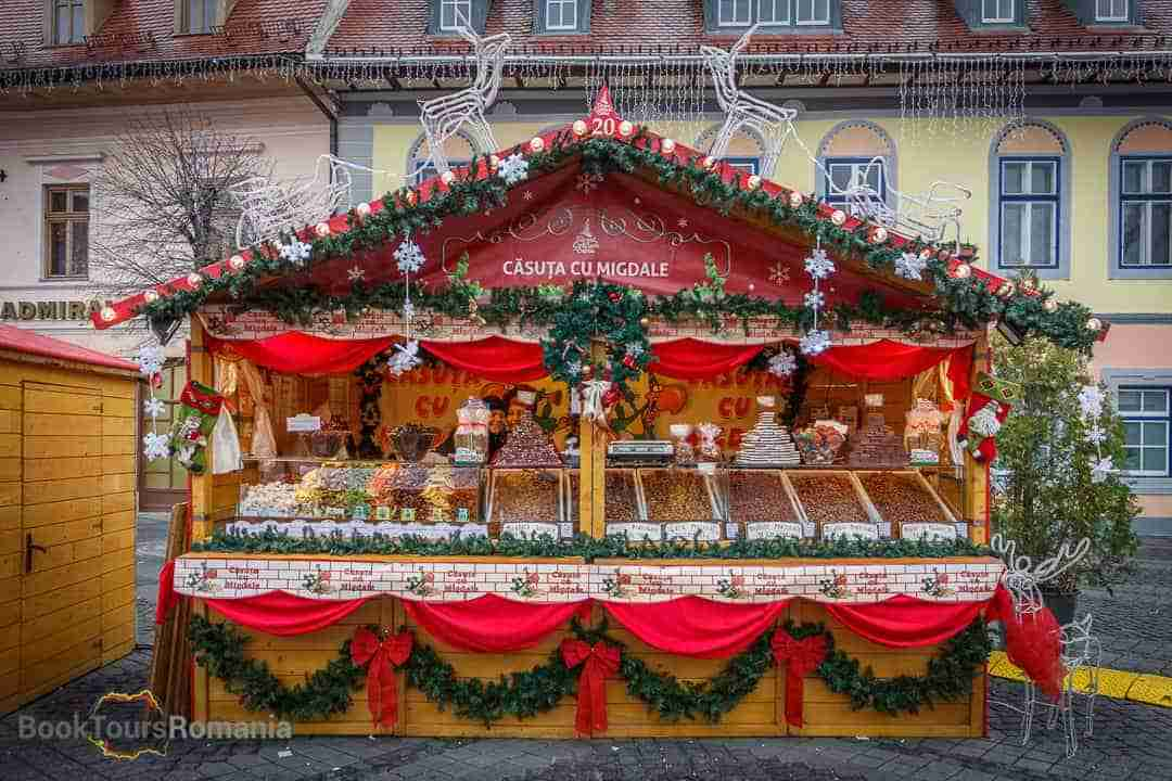 Day 1 - From Bucharest to Sibiu and its Christmas Market