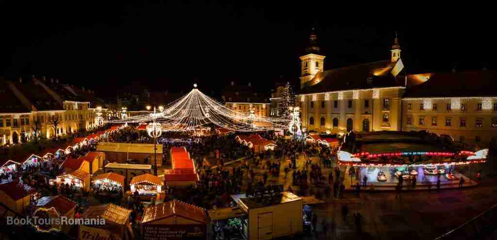 Sibiu's Christmas Market in the Big Square