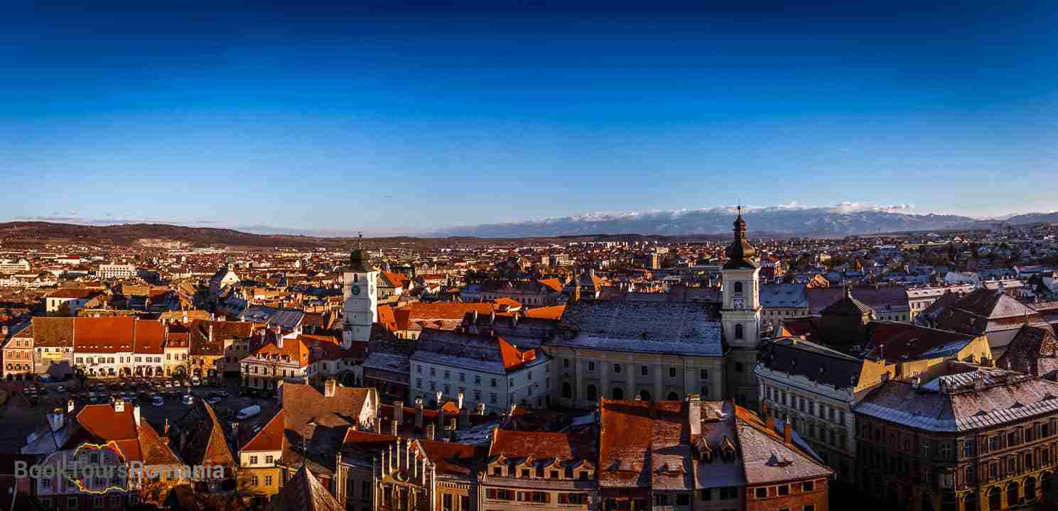 Day 3 - Discover the medieval city of Sibiu and its hundreds of years old legends