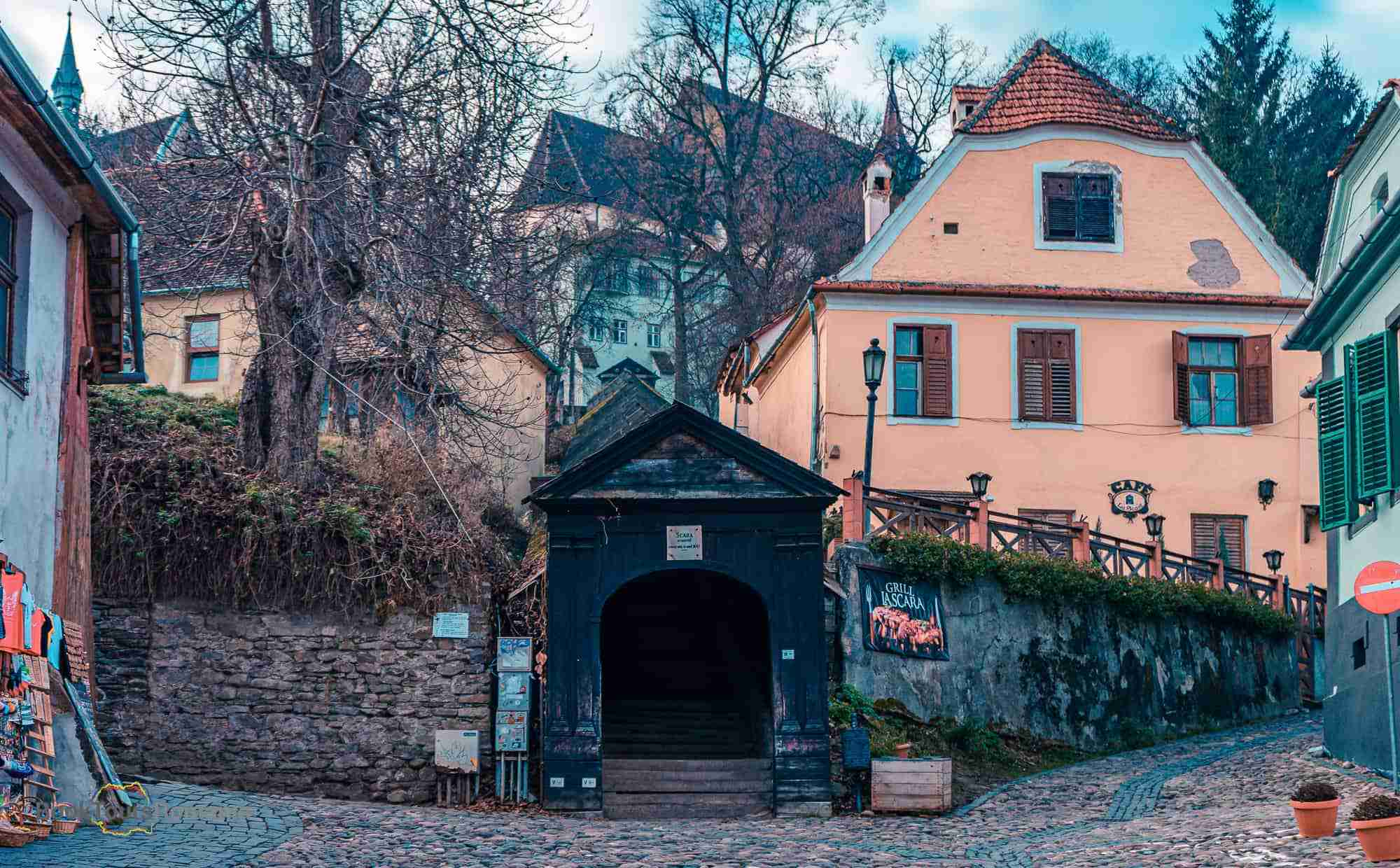Scholars' Staircase of Sighisoara