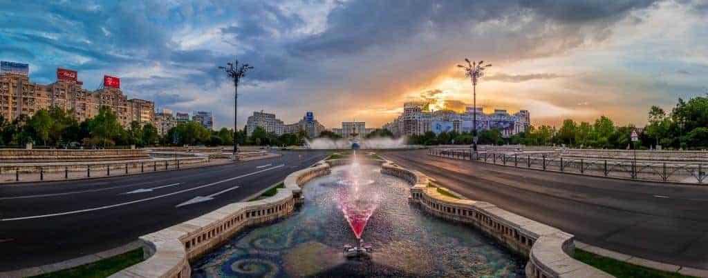 Bucharest city tour: Parliament of Romania