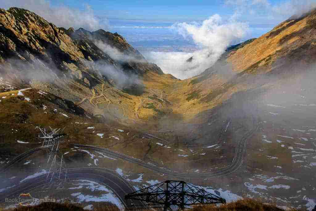 Foggy day on Transfagarasan