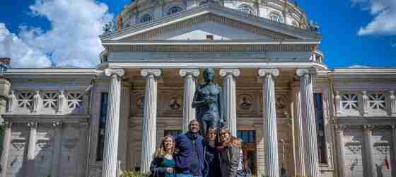 Travelers at the Athenaeum