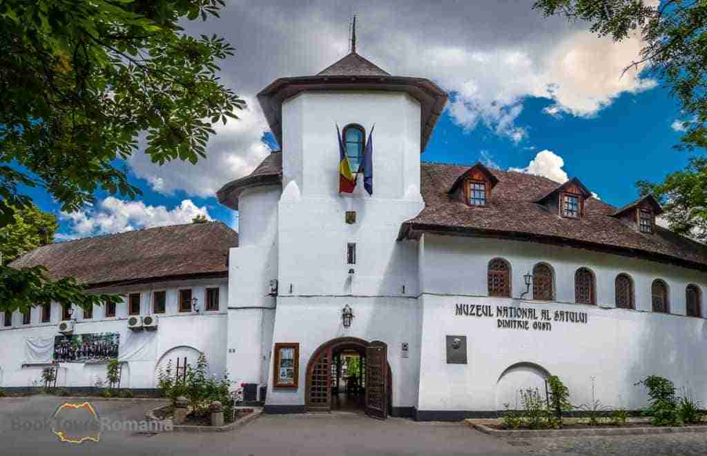 Main Entrance of the Village Museum