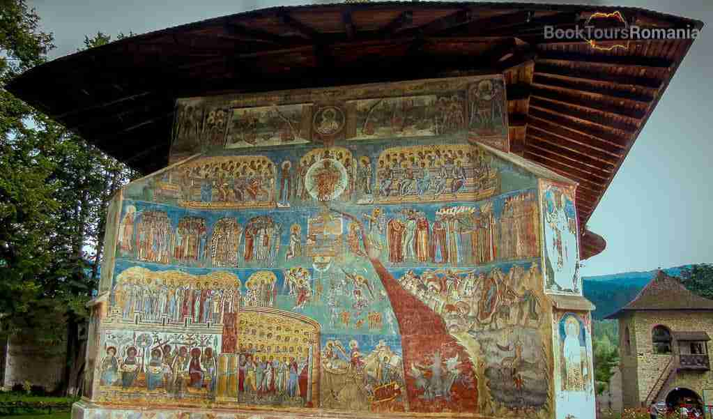 Voronet Monastery - Last Judgment scene