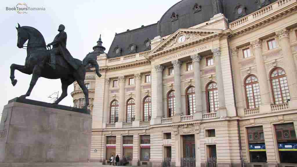 Carol I Statue in Bucharest
