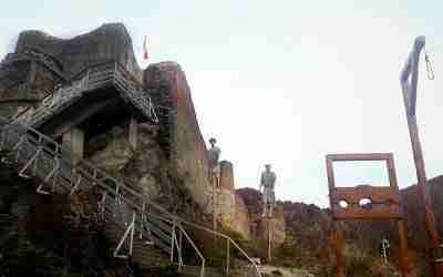 Poenari Castle - the real Dracula Castle