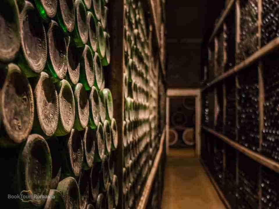 Wine cellar in Romania
